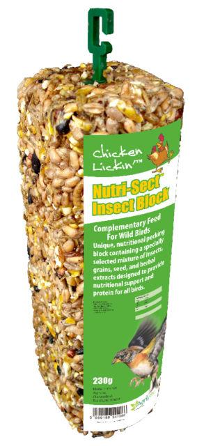 Chicken Likin Nutri Sect Insect Block 230g 163 3 99