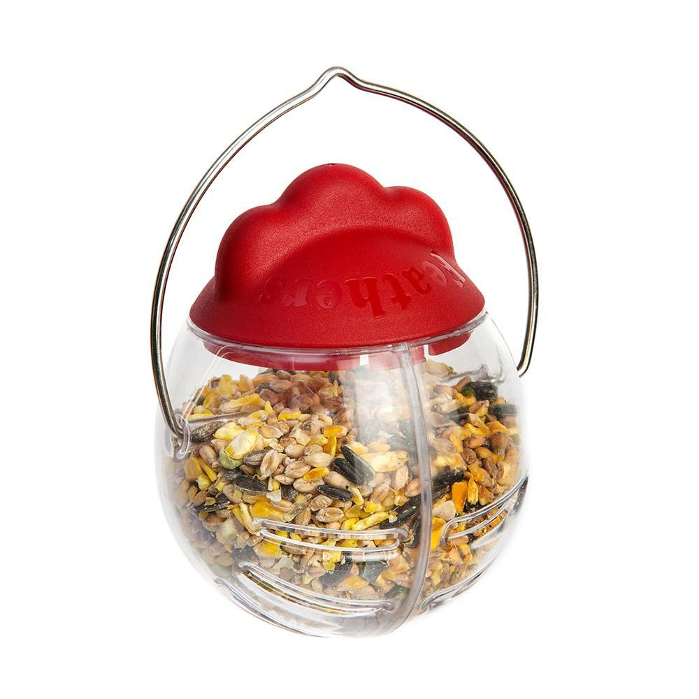 Feathers And Beaky Peck It Treat Dispenser 163 5 75